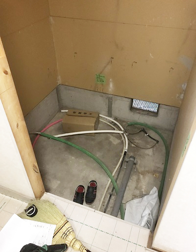 兵庫県尼崎市 Y様邸 浴室・洗面化粧台リフォーム