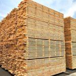 材木置き場写真