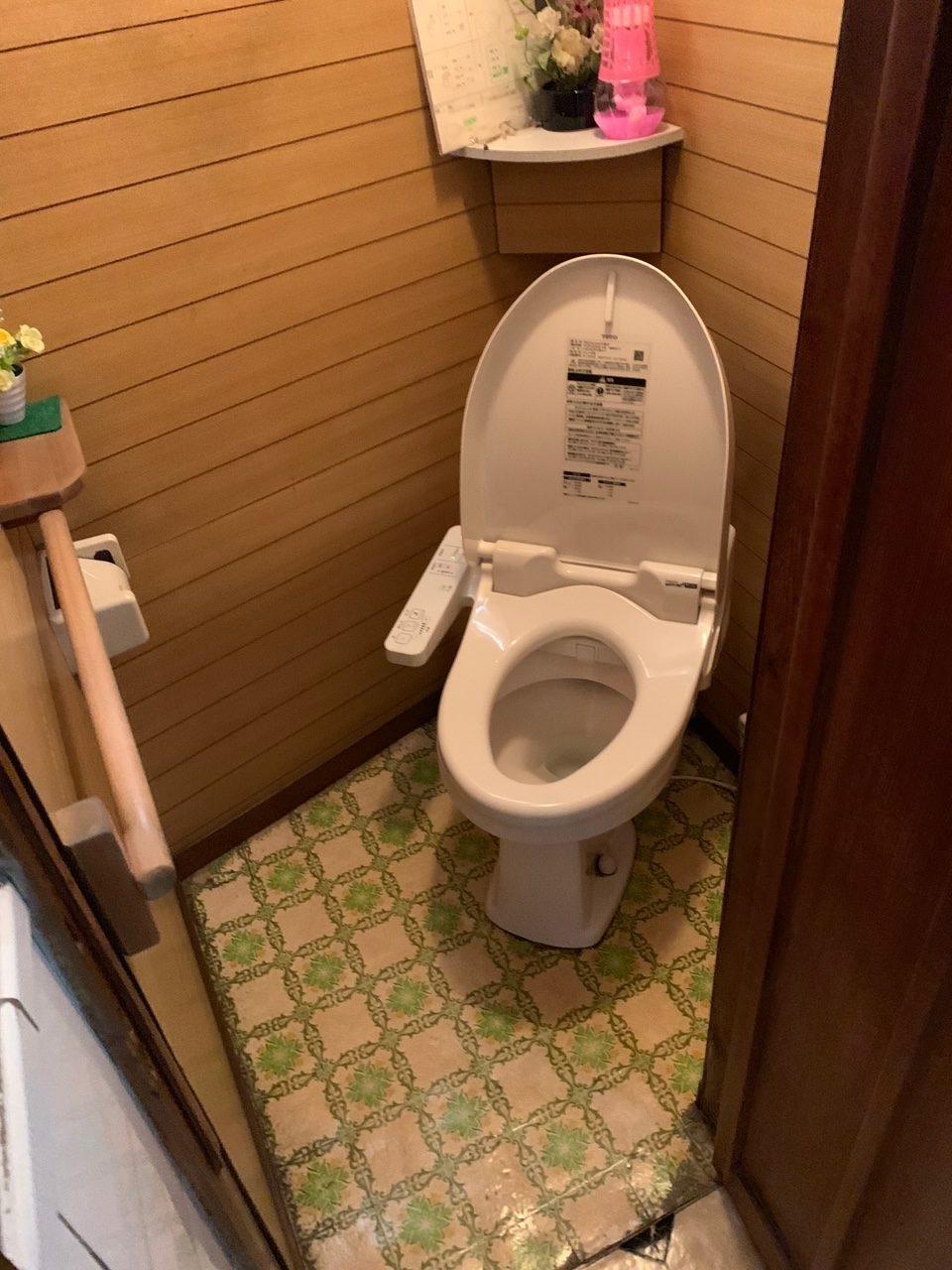 トイレ一室の空間をオールチェンジ