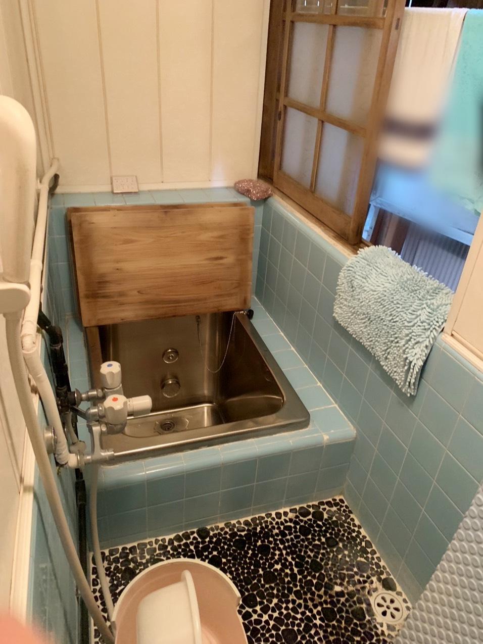 在来工法のお風呂をユニットバスへ